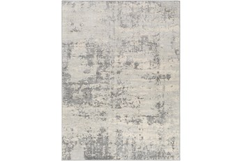 63X87 Rug-Modern Grey And Cream