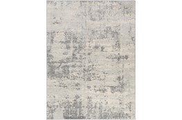 "6'6""x9'5"" Rug-Modern Grey And Cream"