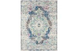 63X87 Rug-Traditional Distressed Multicolored