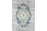 "6'6""x9' Rug-Traditional Distressed Multicolored"
