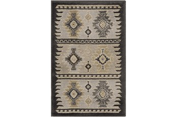 94X134 Rug-Rustic Grey And Khaki