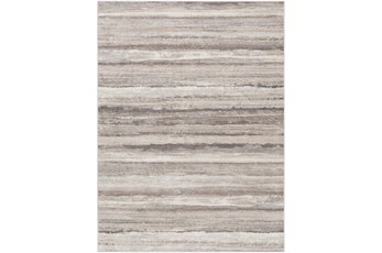 "5'3""x7'1"" Rug-Modern Stripe Grey And Tans"