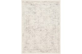 "6'6""x9' Rug-Traditional Light Greys And Creams"