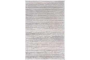 142X179 Rug-Modern Distressed High/Low Khaki And Grey