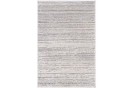 "3'9""x5'6"" Rug-Modern Distressed High/Low Khaki And Grey"