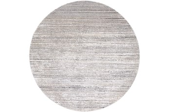 94 Inch Rug-Modern Distressed High/Low Khaki And Grey