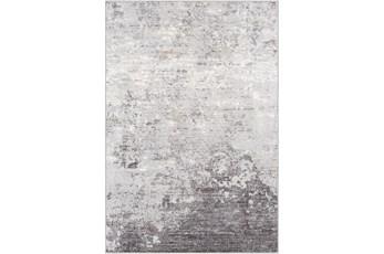 """5'3""""x7'3"""" Rug-Modern Greys And White"""