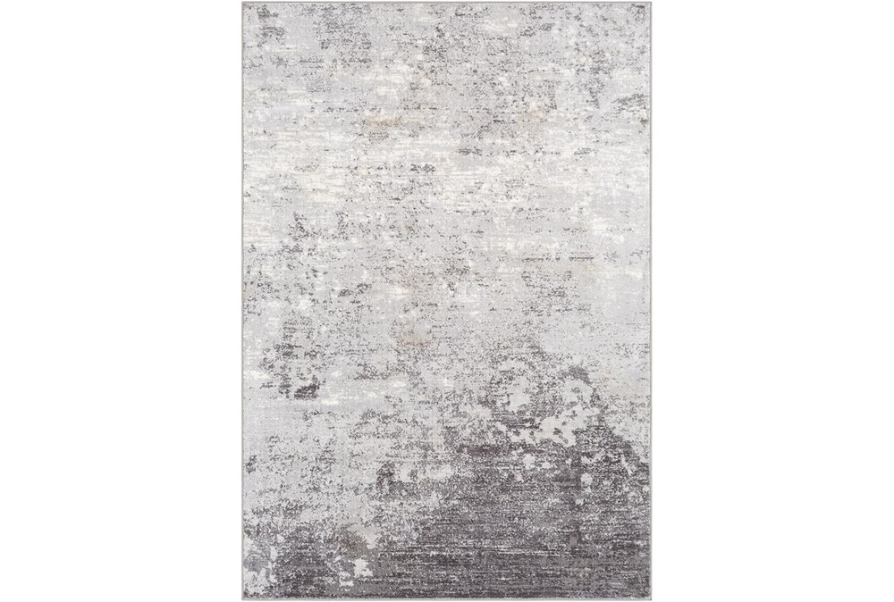"7'8""x10'3"" Rug-Modern Greys And White"