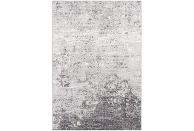 "7'8""x10'3"" Rug-Modern Greys And White - 360"