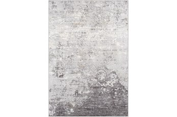 108X147 Rug-Modern Greys And White