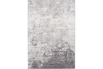 """9'x12'3"""" Rug-Modern Greys And White"""
