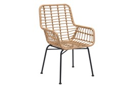 Mcgrath Natural Outdoor Chair Set Of 2
