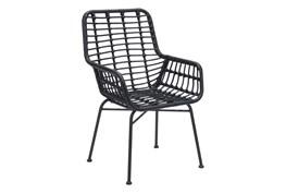Mcgrath Black Outdoor Chair Set Of 2