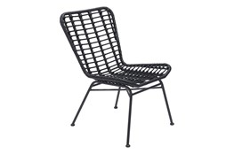 Laguna Outdoor Black Chair Set Of 2