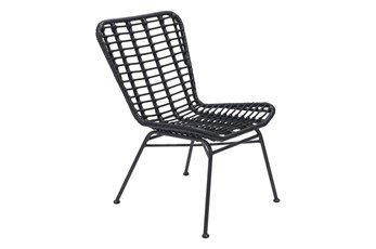 Laguna Outdoor Black Chair Set Of 2