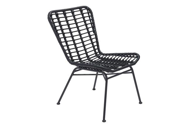 Laguna Outdoor Black Chair Set Of 2 - 360