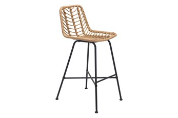 Sands Natural Outdoor Bar Chair