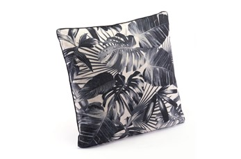 Accent Pillow-Jungle Black & Beige 18X18