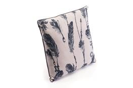 Accent Pillow-Western Black & Beige 18X18
