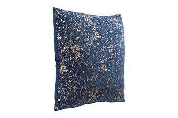Accent Pillow-Dream Blue & Gold 18X18