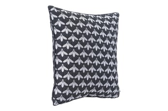 Accent Pillow-Bees Black 16X16