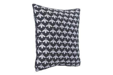 Accent Pillow-Bees Black 16X16 - Main