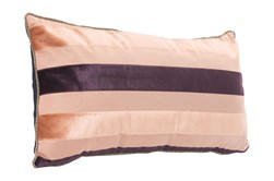 Accent Pillow-Stripes Pink 11X22