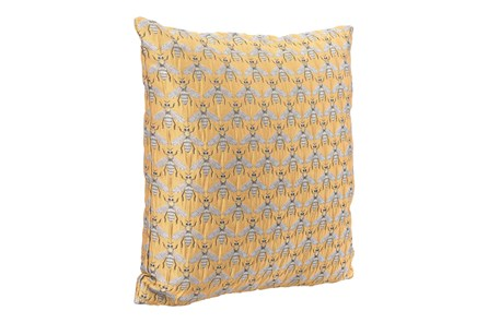 Accent Pillow-Bees Yellow 16X16 - Main