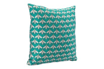 Accent Pillow-Beesgreen 16X16