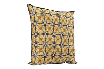 Accent Pillow-Kaleidescope Yellow 16X16