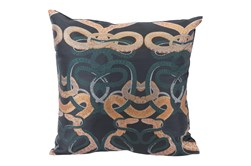 Accent Pillow-Snake Multicolor 16X16