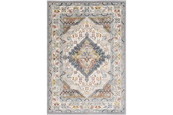 94X94 Square Rug-Traditional Multicolor