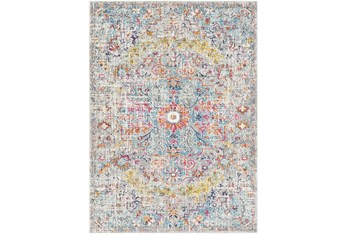 2'x3' Rug-Traditional Blue/Multicolroed
