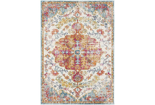 47X67 Rug-Traditional Multicolored - 360