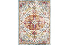 """5'3""""x7'3"""" Rug-Traditional Multicolored"""