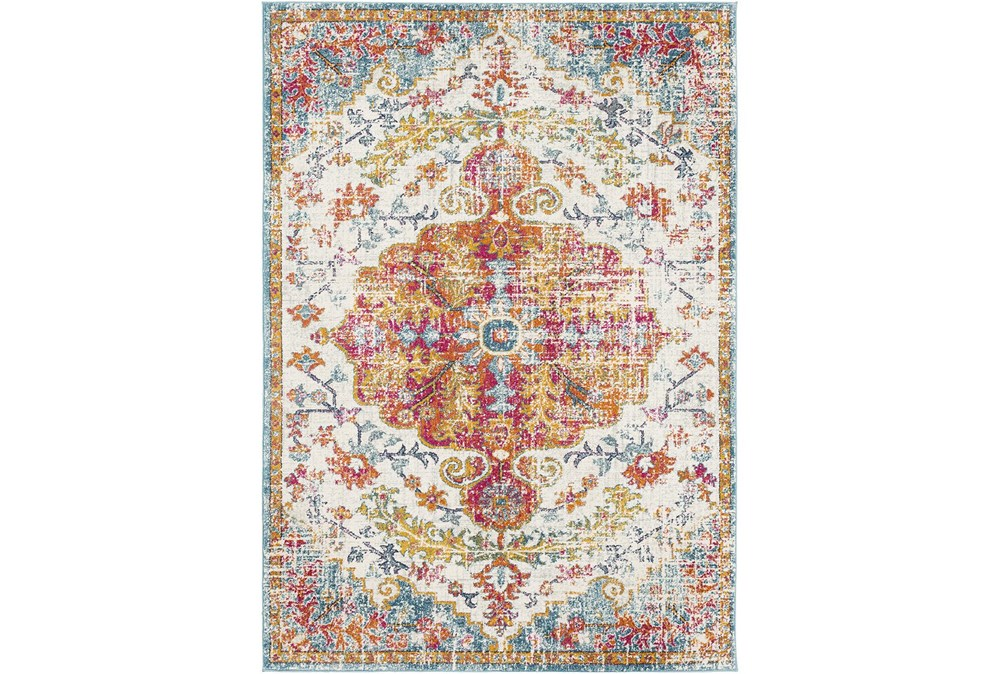 """9'x12'5"""" Rug-Traditional Multicolored"""