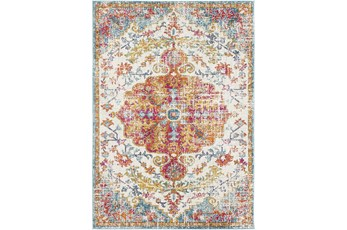 108X150 Rug-Traditional Multicolored