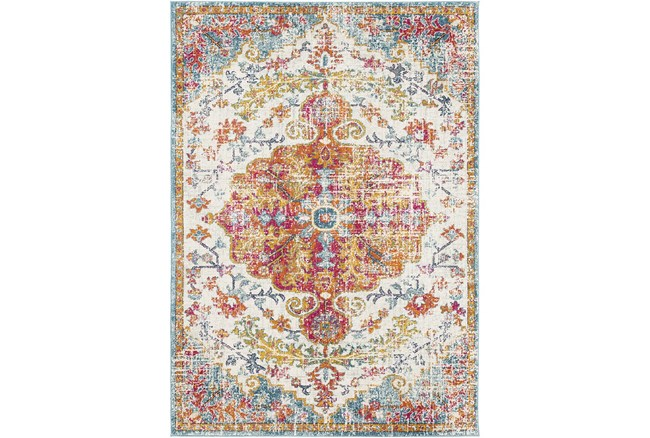 """9'x12'5"""" Rug-Traditional Multicolored - 360"""