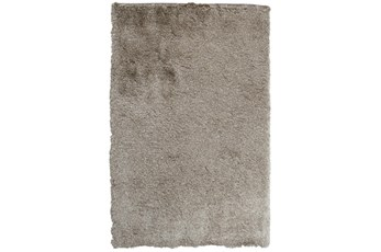 24X36 Rug-Modern Luxe Taupe Shag