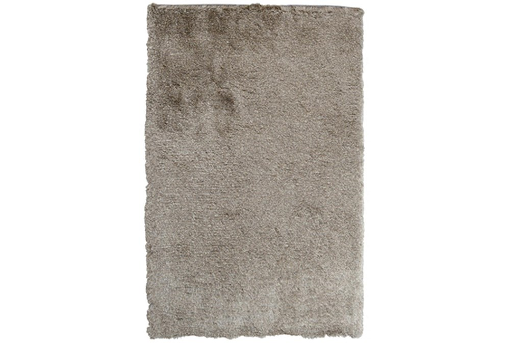 96X120 Rug-Modern Luxe Taupe Shag