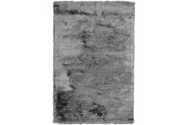 2'x3' Rug-Modern Luxe Dark Gray Shag