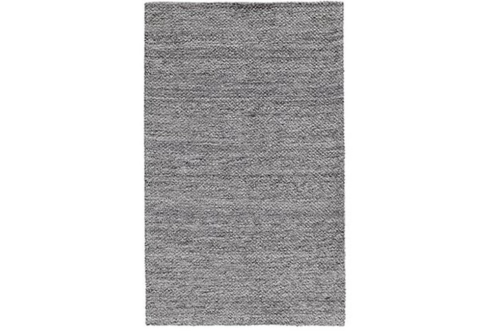 2'x3' Rug-Modern Heathered Wool Gray