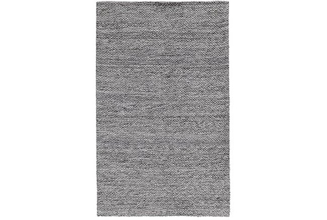 2'x3' Rug-Modern Heathered Wool Gray - 360