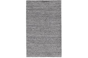 60X96 Rug-Modern Heathered Wool Gray