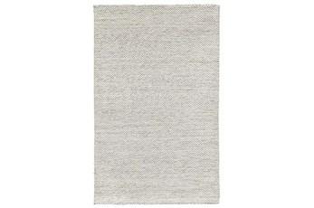 24X36 Rug-Modern Heathered Wool Ivory