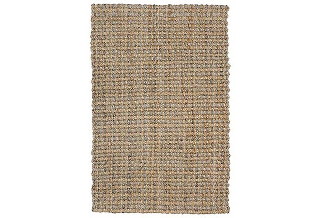 60X96 Rug-Rustic Natural Gray Jute - 360