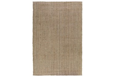 5'x8' Rug-Stripe Natural And Ivory