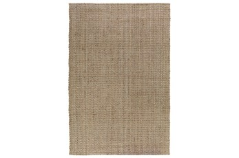96X120 Rug-Stripe Natural And Ivory