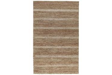 9'x12' Rug-Rustic Ivory Natural Stripe