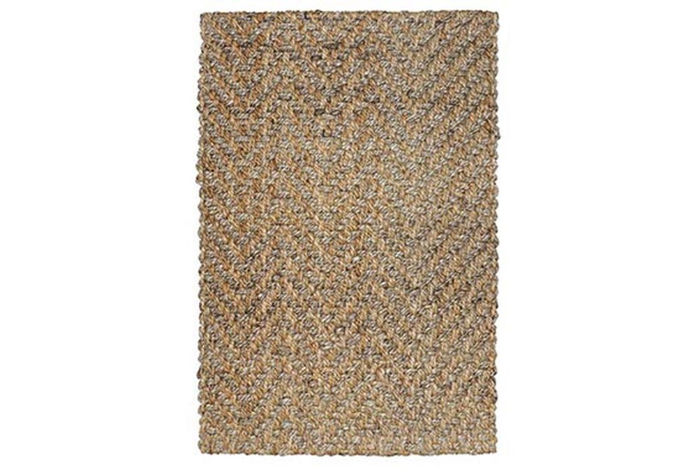 24X36 Rug-Modern Herringbone Natural